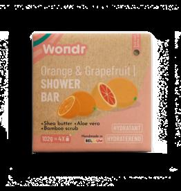 Wondr Scrub bar, Orange & Grapefruit
