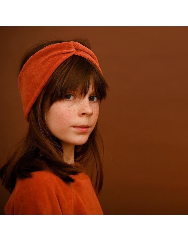 Lily Balou Lily Balou - Nono hairband, rust (3-16j)