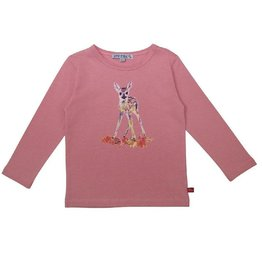 Enfant Terrible Shirt met reeprint, rosé (3-16j)