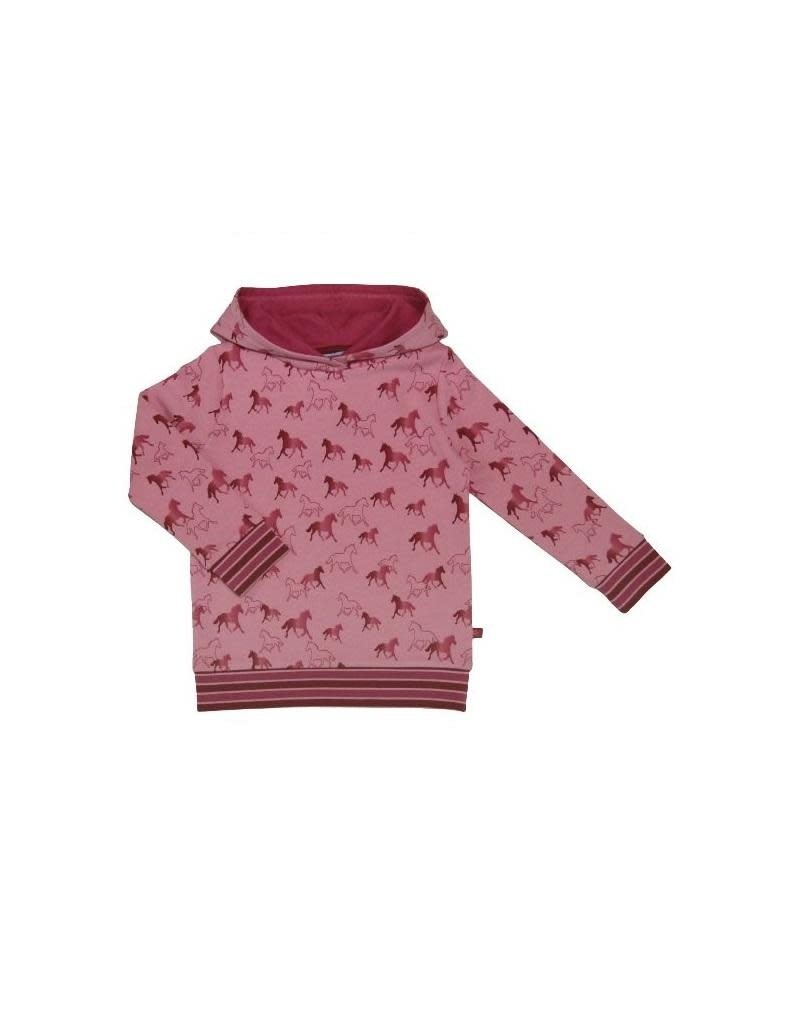 Enfant Terrible Enfant Terrible - Hoodie mit Pferdedruck, rosé-erika (3-16j)