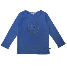 Enfant Terrible Shirt met borduursel, himmelblau (3-16j)