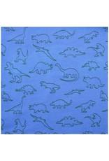 Enfant Terrible Enfant Terrible - Hoodie mit Dinodruck, himmelblau-waldgrün (3-16j)