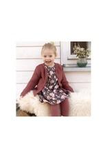 Enfant Terrible Enfant Terrible - Webkleid mit Magnolien, schiefer-rosé (3-16j)
