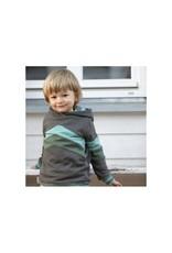 Enfant Terrible Enfant Terrible - Hoodie mit Colourblocking, schiefer-waldgrün (3-16j)