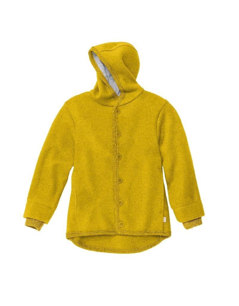 Disana Disana - boiled wool jacket, curry (0-2j)
