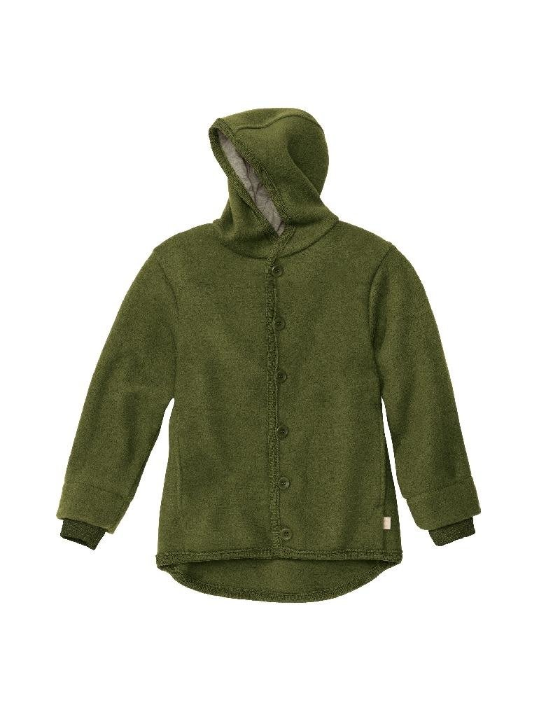 Disana Disana - Boiled wool jacket, olive (3-16j)