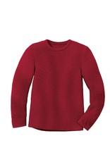 Disana Disana - left knit jumper, bordeaux (0-2j)