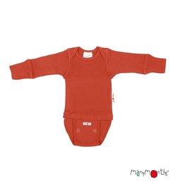 ManyMonths Body/shirt, rooibos red (0-2j)