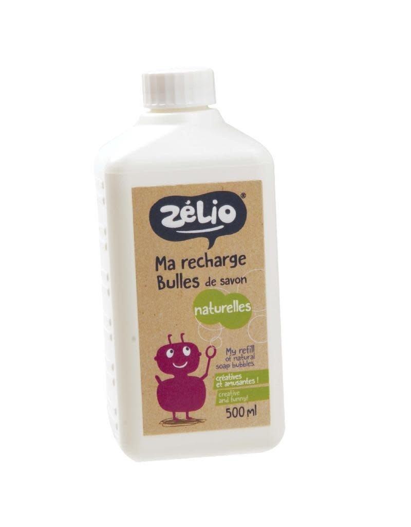 Zelio Zelio - Ma recharge bulles de savon, 500ml