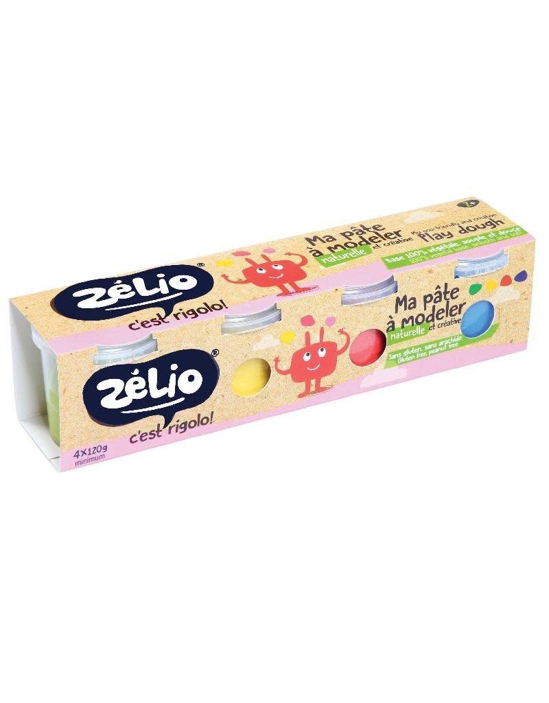 Zelio Zelio - Ma pate à modeler, 4 pots