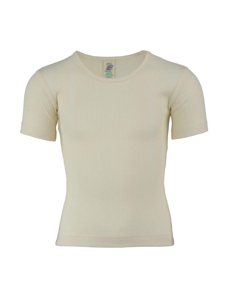 Engel Engel - onderhemd, ss, katoen, natuur (3-16j)