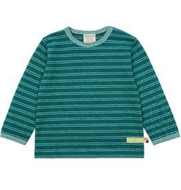 Loud+Proud Shirt gestreept, ivy (0-2j)