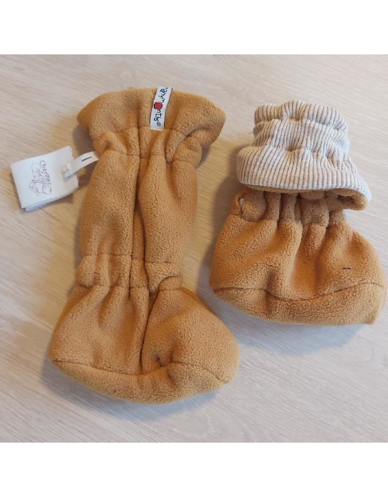 ManyMonths ManyMonths - adjustable winterbooties, toasted coconut (0-2j)