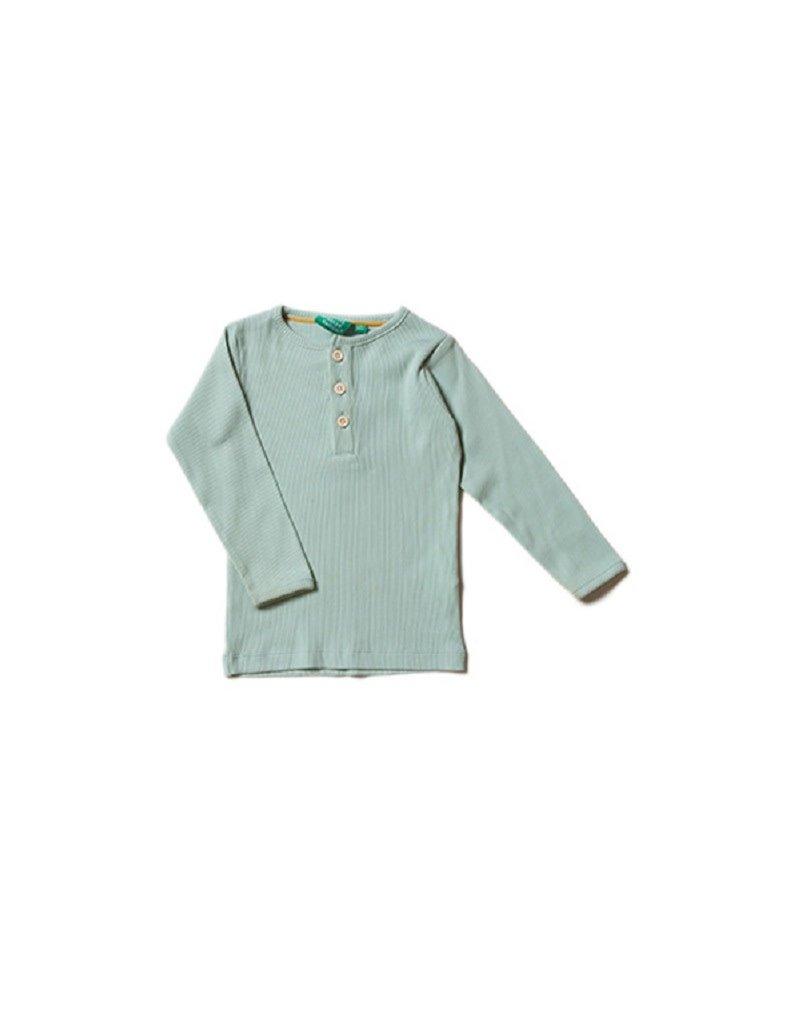 Little Green Radicals Little Green Radicals - Alpinegreen rib long sleevetee (0-2j)