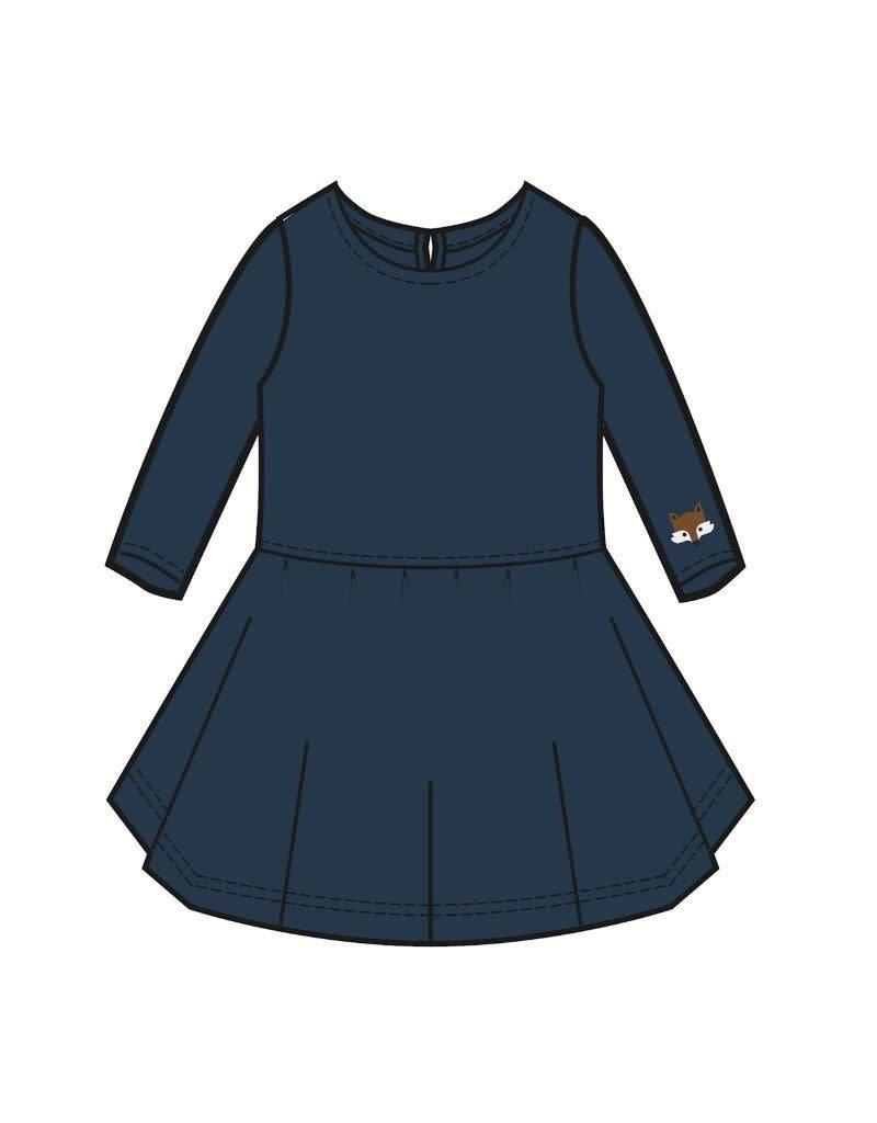 Lily Balou Lily Balou - Trissia circle dress, dark-petrol