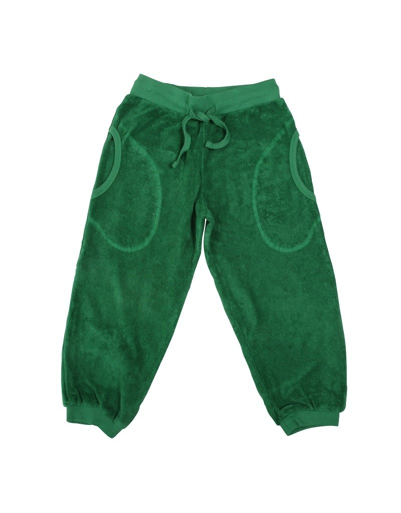 DUNS Sweden Duns Sweden - Terry trousers, juniper (3-16j)