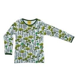 DUNS Sweden Shirt, enchanted forest (3-16j)