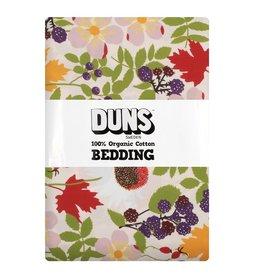 DUNS Sweden Donsdekenovertrek met kussensloop, Autumn flowers