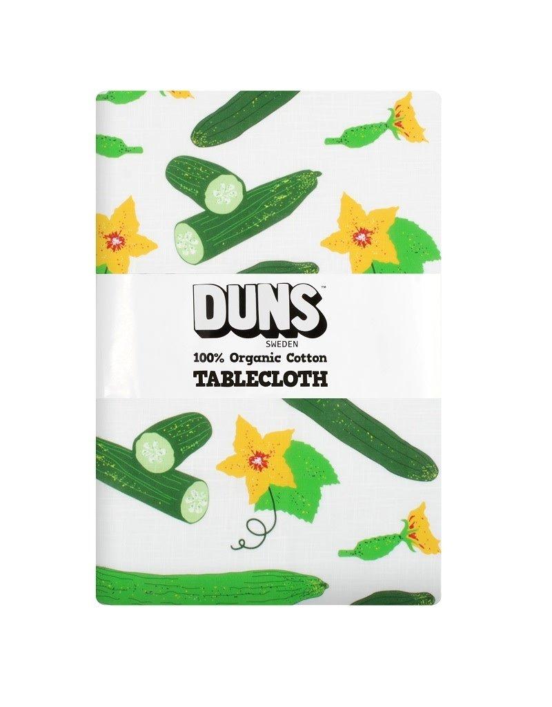 DUNS Sweden Duns Sweden - Tablecloth, cottton/linen, 220x140cm, cucumber
