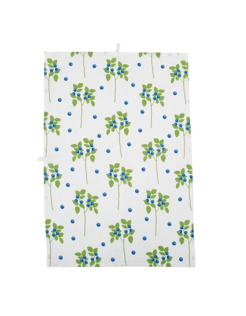 DUNS Sweden DUNS Sweden - Kitchen Towel, cotton/linen, blueberries