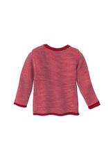 Disana Disana - Melange jacket, bordeaux/rose (0-2j)