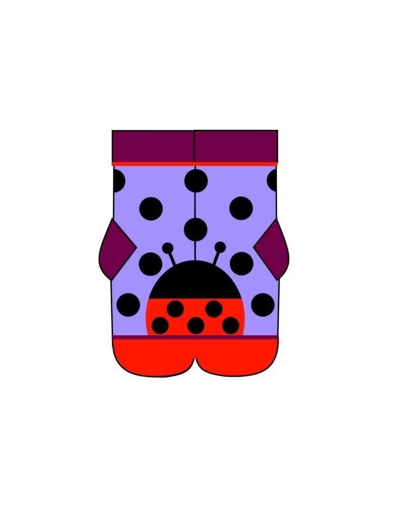 DUNS Sweden DUNS Sweden - kous, ladybug purple (3-16j)