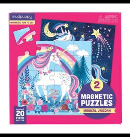Mudpuppy Magneetpuzzel, magical unicorn