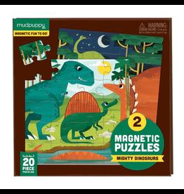 Mudpuppy Magneetpuzzel, mighty dinosaurs