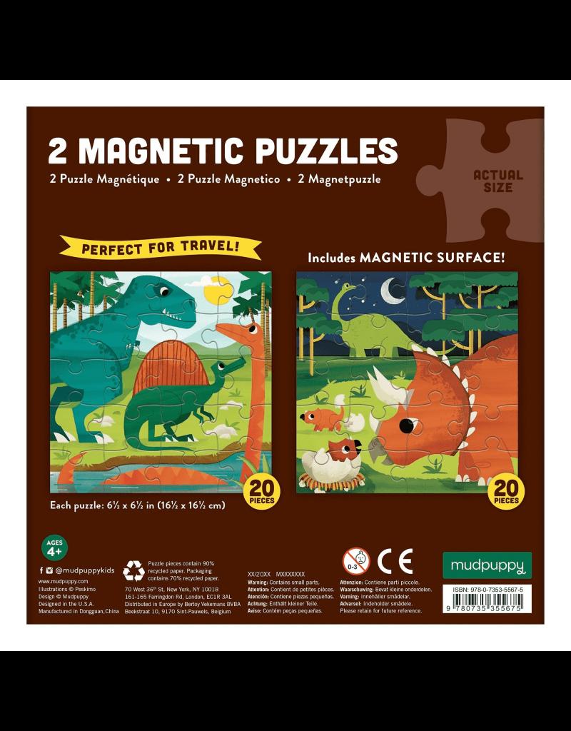 Mudpuppy Mudpuppy - Magnetic fun, mighty dinosaurs