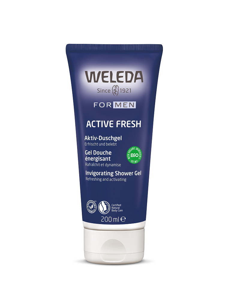 Weleda Weleda - Men Active fresh douchegel, 200ml