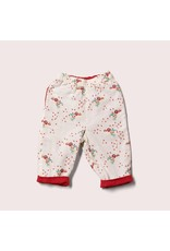 Little Green Radicals Little Green Radicals - Reversible trousers, Cherry blossom day after day (0-2j)