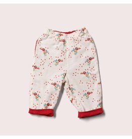 Little Green Radicals Omkeerbare broek, Cherry blossom day after day (0-2j)