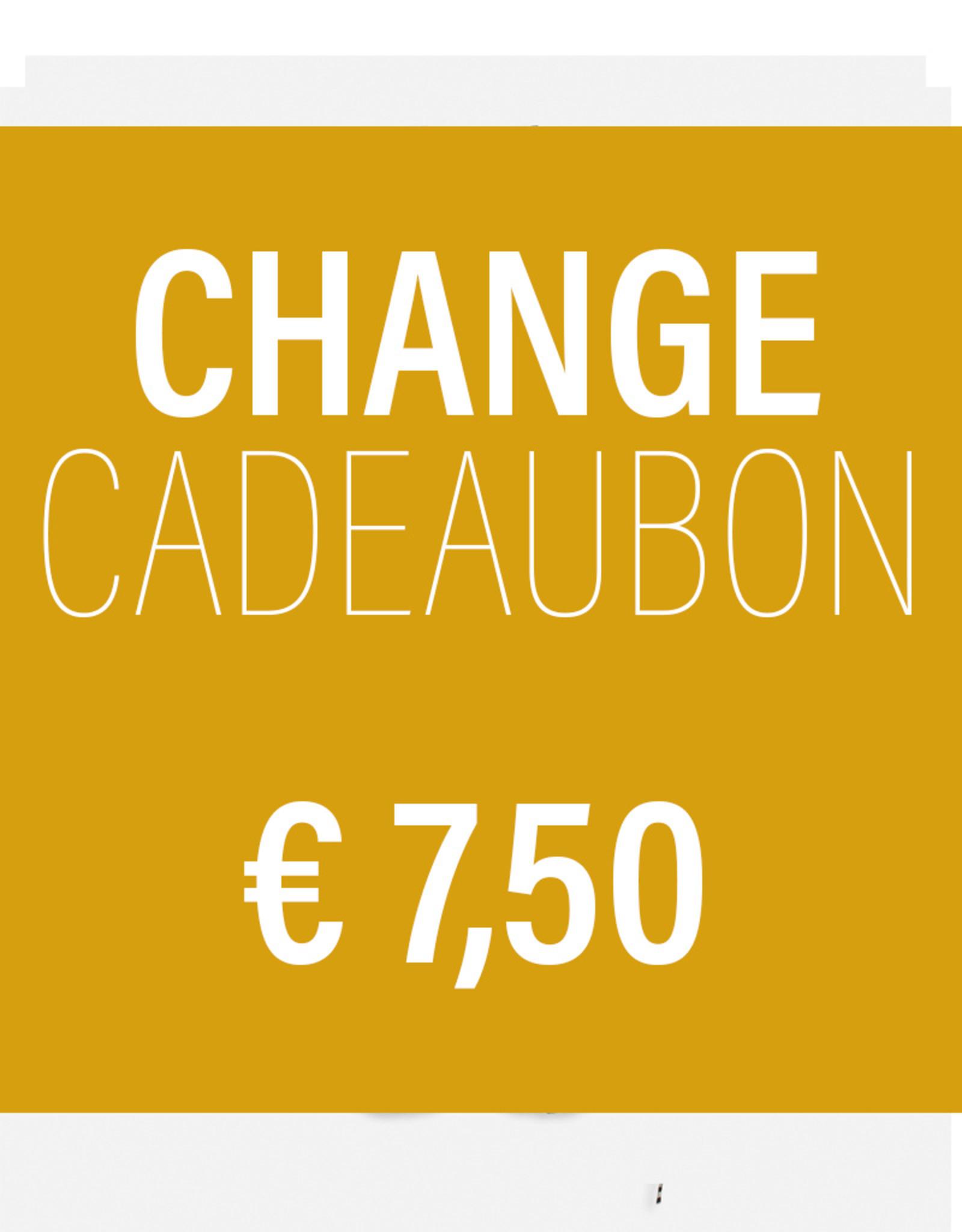 CHANGE CADEAUBON 7,50