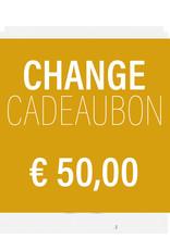 CHANGE CADEAUBON 50,00
