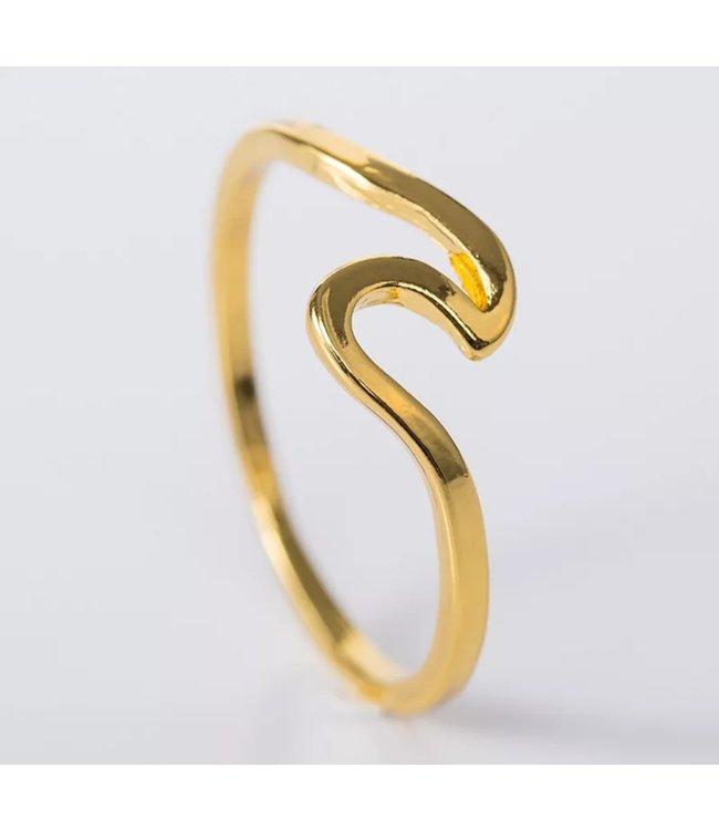 Ocean wave ring