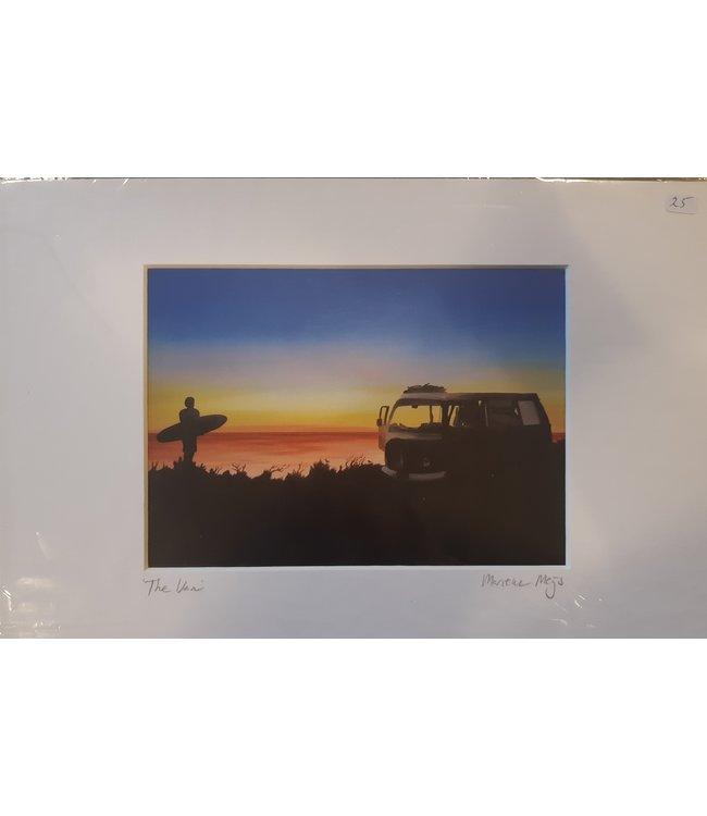 SURFART Passepartout prints- pick your favourite