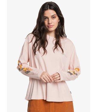 QUIKSILVER Quik Classic Oversized - T-shirt met Lange Mouw voor Dames