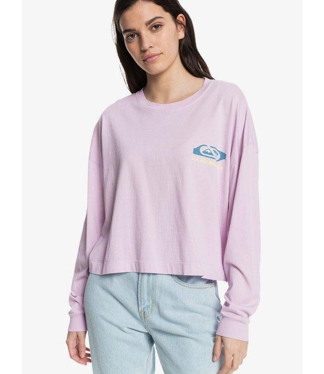 QUIKSILVER Return To The Moon - T-shirt met Lange Mouw voor Dames
