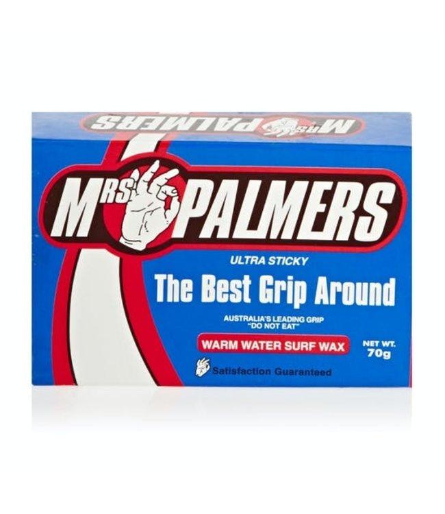 Mrs. Palmers warm water surf wax