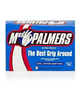 Mrs. Palmers cool water surf wax