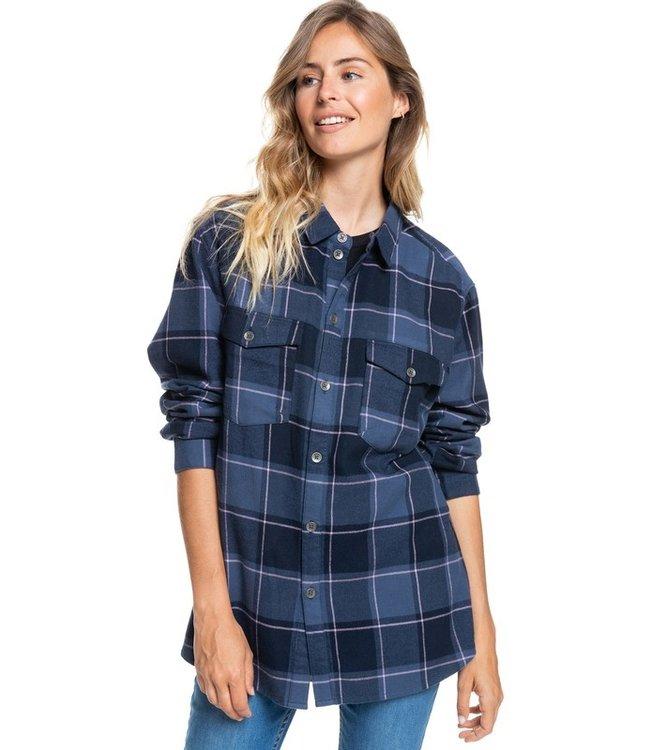 ROXY Turn It Up - Overhemd met Lange Mouw voor Dames