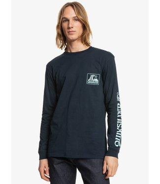 QUIKSILVER Seaquest - T-shirt met Lange Mouw voor Heren