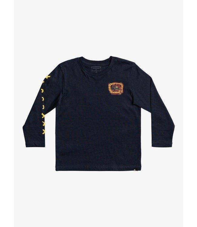 QUIKSILVER Big Q - T-shirt met Lange Mouw voor Jongens 2-7
