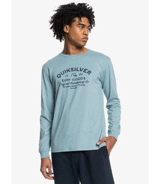 QUIKSILVER Closed Tion - T-shirt met Lange Mouw voor Heren
