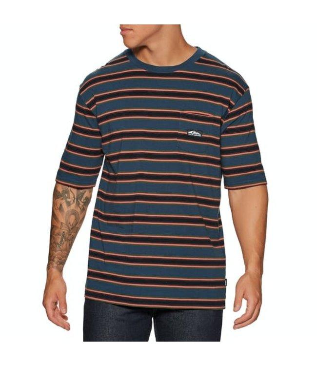 QUIKSILVER Quik Stripe - T-shirt voor Heren