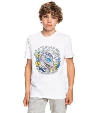 QUIKSILVER Wavey Skull - T-shirt voor Jongens