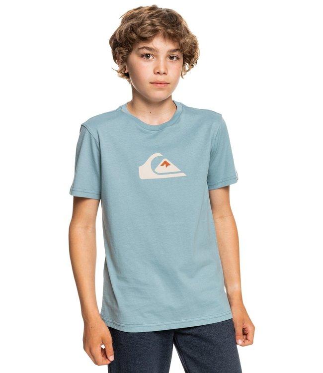 QUIKSILVER Comp Logo - T-shirt voor Jongens
