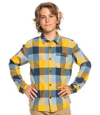 QUIKSILVER Motherfly - Overhemd met Lange Mouw voor Jongens