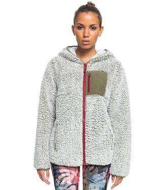 ROXY Want It Back - Sherpa Fleece met Rits voor Dames