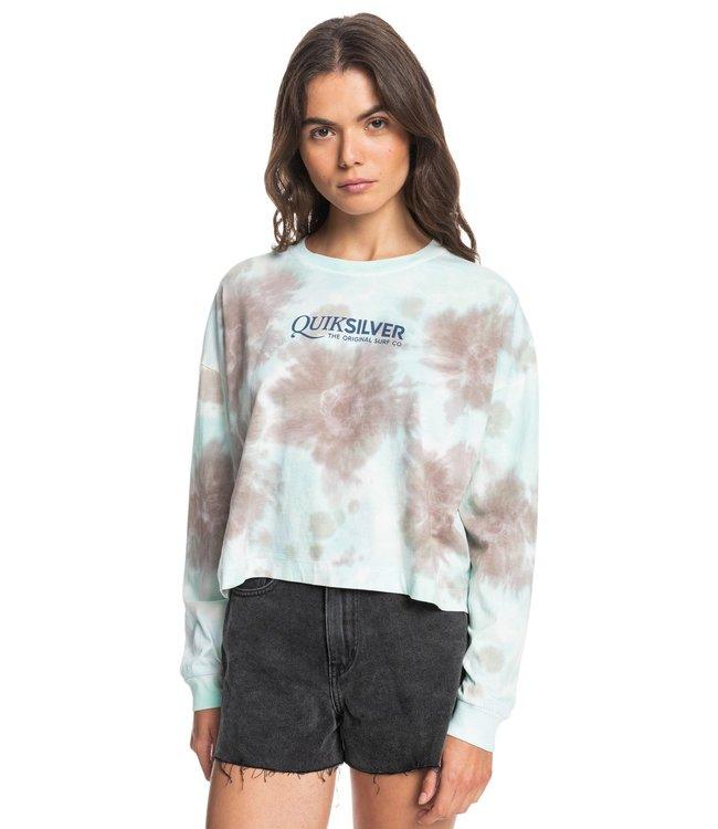 QUIKSILVER Oversized Mineral Tie-Dye - Long Sleeve T-Shirt for Women